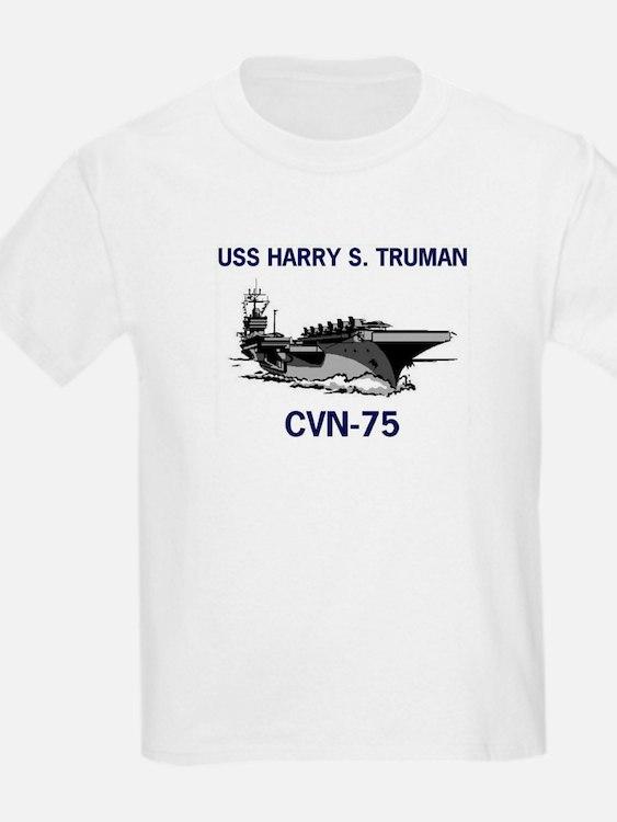 USS HARRY S. TRUMAN Kids T-Shirt