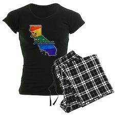 St Helena, California. Gay Pride Pajamas