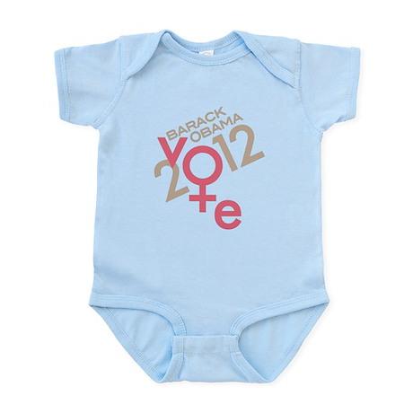 Women Vote Obama Infant Bodysuit