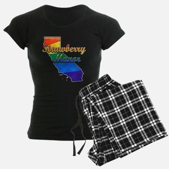 Strawberry Manor, California. Gay Pride Pajamas