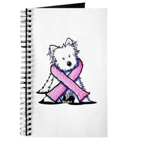 Pink Ribbon Westie Journal