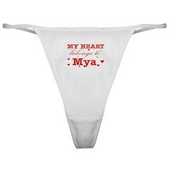 I love Mya Classic Thong