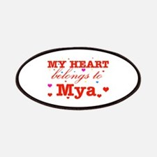 I love Mya Patches