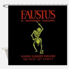 Christopher Marlowe Faustus Shower Curtain