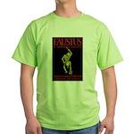 Christopher Marlowe Faustus Green T-Shirt