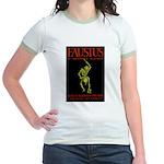 Christopher Marlowe Faustus Jr. Ringer T-Shirt