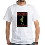 Christopher Marlowe Faustus White T-Shirt