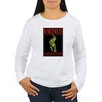 Christopher Marlowe Faustus Women's Long Sleeve T-