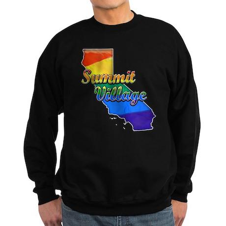 Summit Village, California. Gay Pride Sweatshirt (