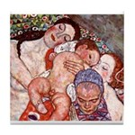 Klimt Motherhood Tile Coaster