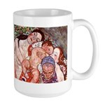 Klimt Motherhood Large Mug