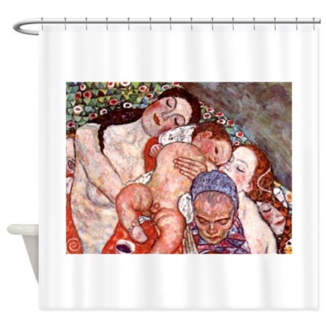 Klimt Motherhood Shower Curtain