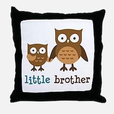 Little Brother - Mod Owl Throw Pillow