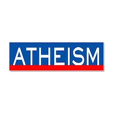 Atheism RW+B Car Magnet 10 x 3