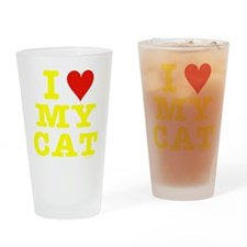 Unique Catpoo Drinking Glass