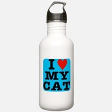 Cute Catpoo Water Bottle