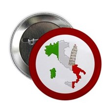 """""""Pixel Italy/Pisa"""" 2.25"""" Button (10 pack)"""