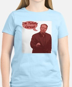 Al Gore - I'm Totally Cereal! Women's Pink T-Shirt
