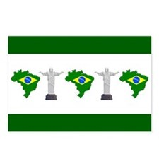 """Pixel Brazil/Statue"" Postcards (Package of 8)"