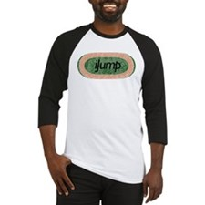 I Jump Track and Field Baseball Jersey
