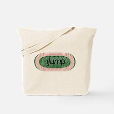 I Jump Track and Field Tote Bag