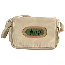 I Jump Track and Field Messenger Bag