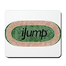 I Jump Track and Field Mousepad