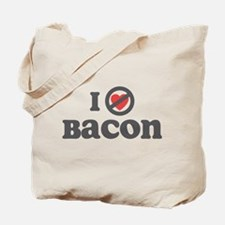 Don't Heart Bacon Tote Bag