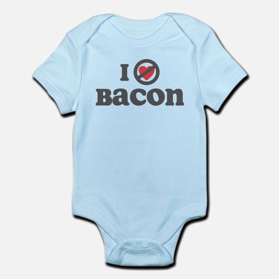 Don't Heart Bacon Infant Bodysuit