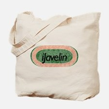 i Javelin Track and Field Tote Bag