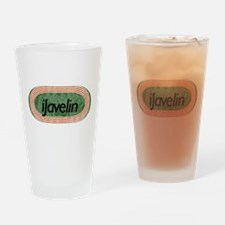i Javelin Track and Field Drinking Glass