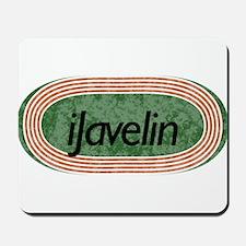 i Javelin Track and Field Mousepad