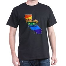 Whiskey Falls, California. Gay Pride T-Shirt