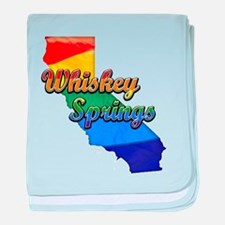 Whiskey Springs, California. Gay Pride baby blanke