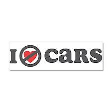 Don't Heart Cars Car Magnet 10 x 3