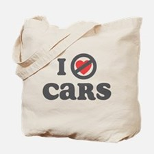 Don't Heart Cars Tote Bag