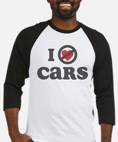 Don't Heart Cars Baseball Jersey