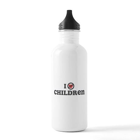 Don't Heart Children Stainless Water Bottle 1.0L