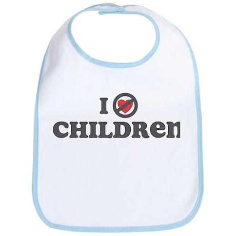 Don't Heart Children Bib