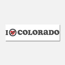 Don't Heart Colorado Car Magnet 10 x 3