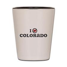 Don't Heart Colorado Shot Glass