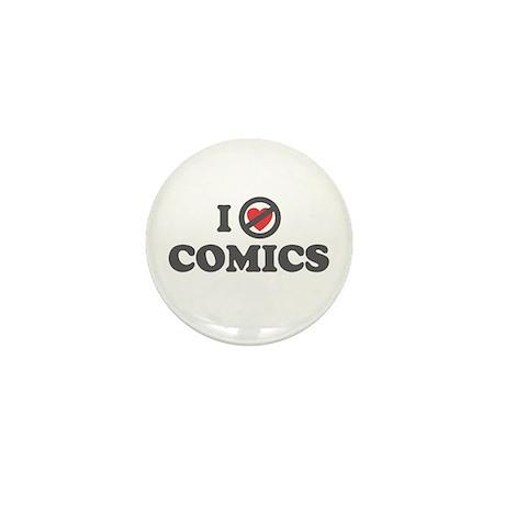 Don't Heart Comics Mini Button (100 pack)