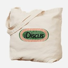 i Discus Track and Field Tote Bag