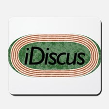 i Discus Track and Field Mousepad