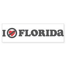 Don't Heart Florida Bumper Sticker