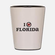 Don't Heart Florida Shot Glass