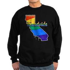 Woodside, California. Gay Pride Sweatshirt
