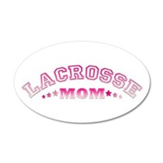 Lacrosse Mom Wall Decal