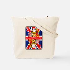 Queen of diamonds Jubilee 2012 Tote Bag