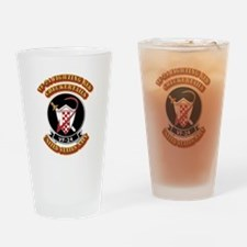 US - NAVY - VF-24 FR Checkertails Drinking Glass